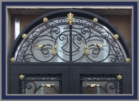 Home and Entry Doors NJ Maslyn Door Co Entry Garage Iron